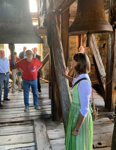 Mystagogische Kirchenführung in Aflenz