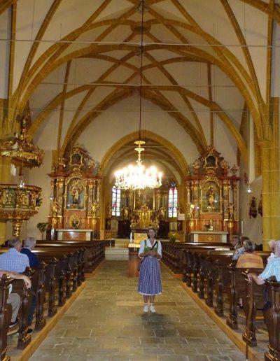 Maria Zifkos Aflenz Führung Kirche