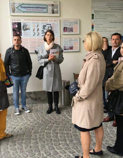 Marias Stadtführung durch Graz
