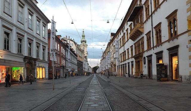 Die Stadtpfarrkirche Graz im August 2020