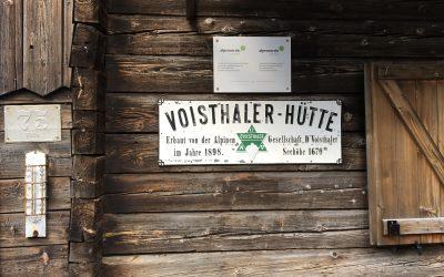 Die alte Voisthalerhütte