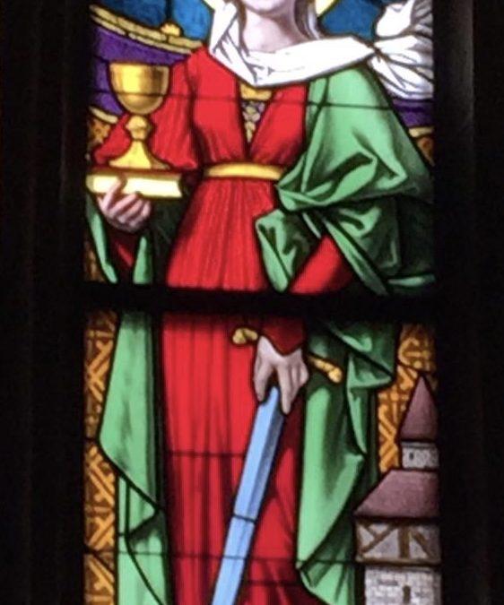 Die heilige Barbara oder die Knöpfe der Bergmannstracht